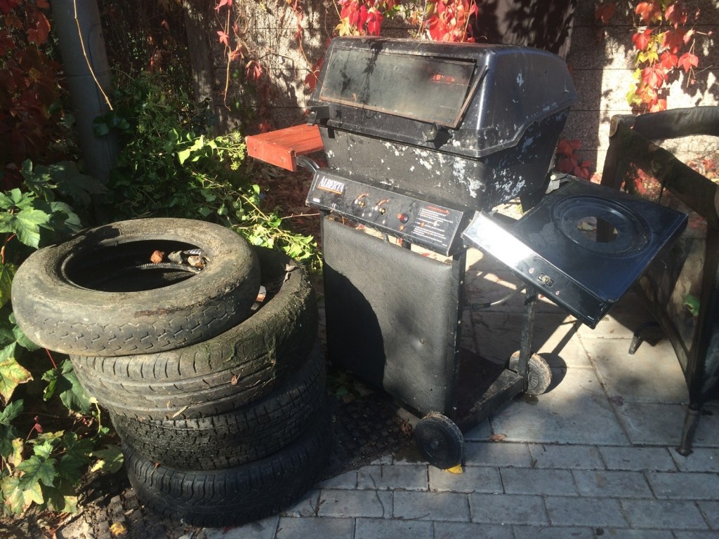 tyres and bbq