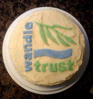Wandle Trust cake