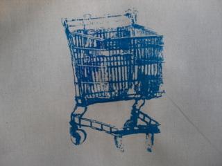 Screen print trolley