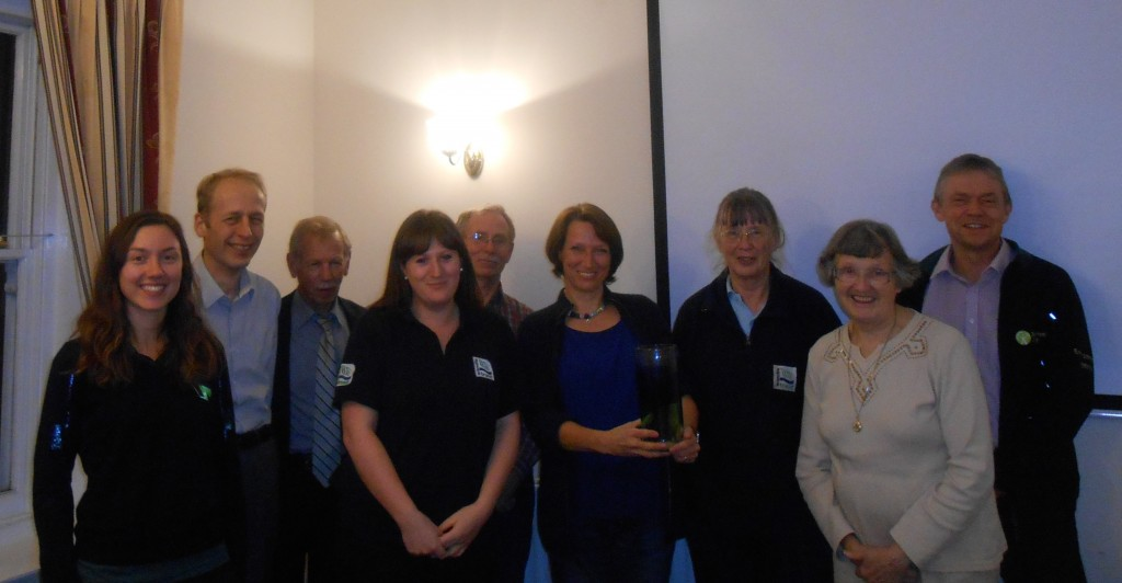 Our Volunteers and their Award