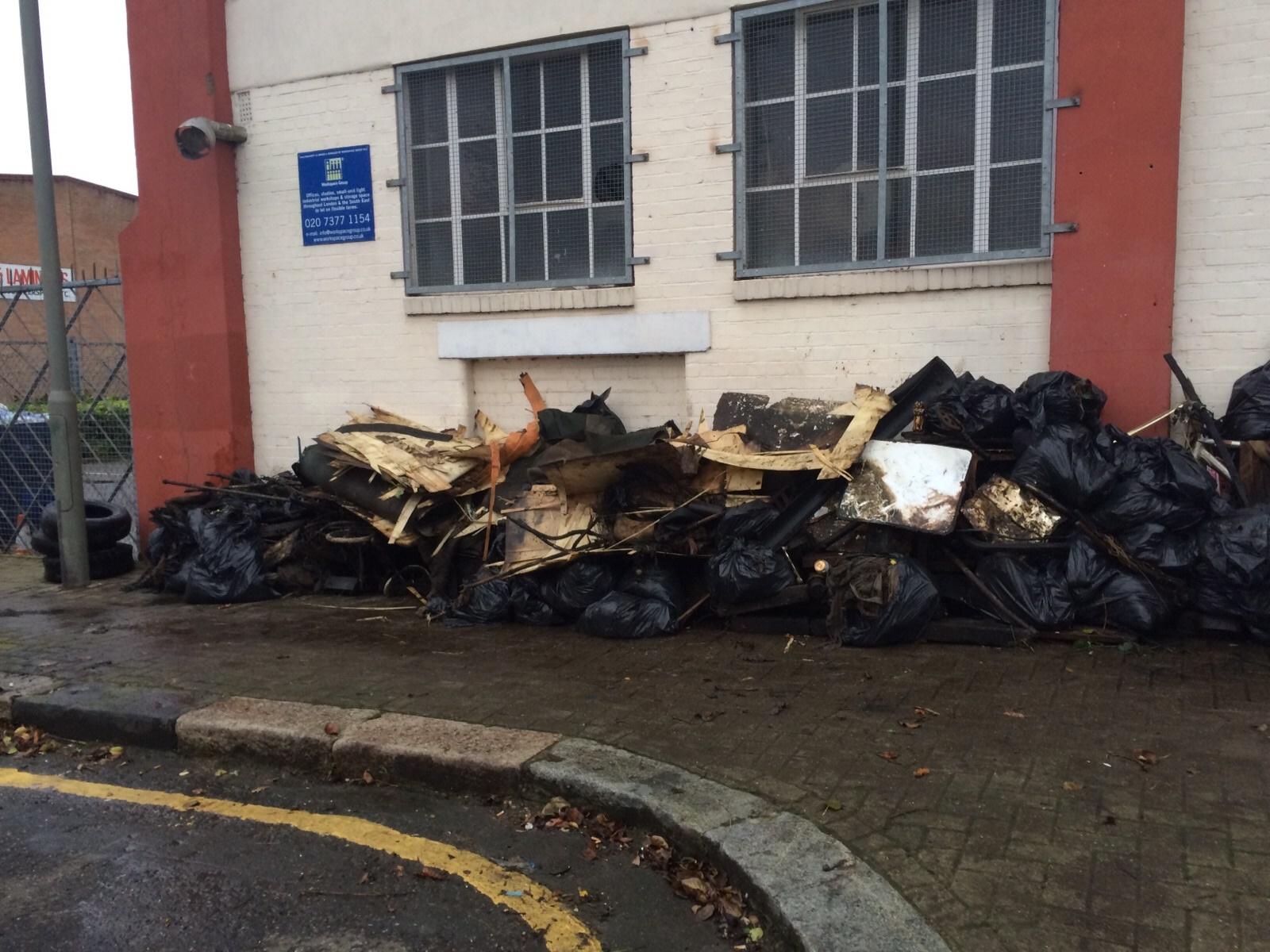 The Rubbish Pile!